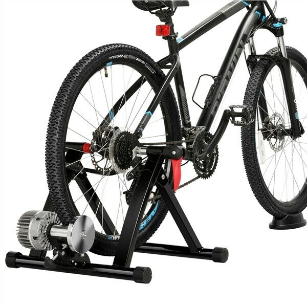Fluid Bike Trainer Stand Bicycle Exercise Training Indoor Cycling Bike Riding $145.99