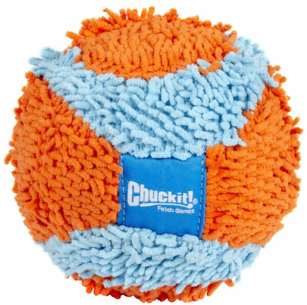 Chuckit! INDOOR ROLLER BALL - FETCH TOYS Dog Puppy Soft Quiet Interactive Play