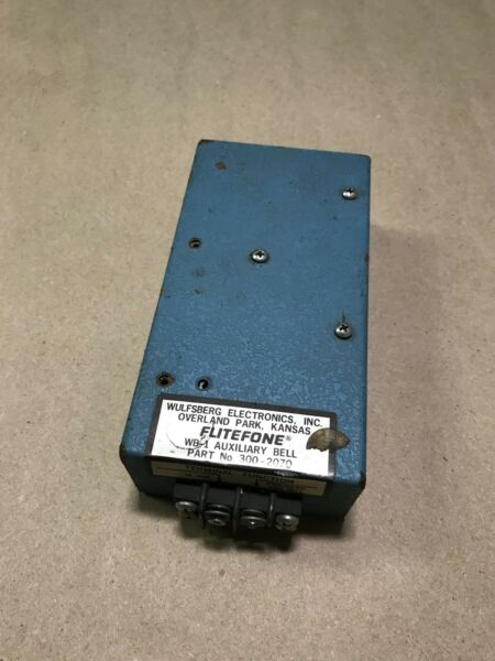 Flitefone WB 1 Auxiliary Bell 300 2070 2478 $24.99