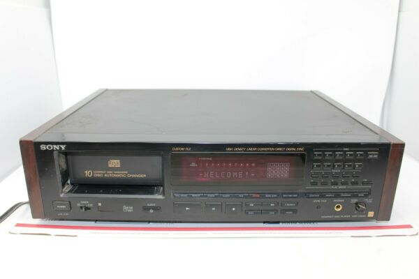 Sony CDP-C90ES  10 Disc Automatic CD Changer