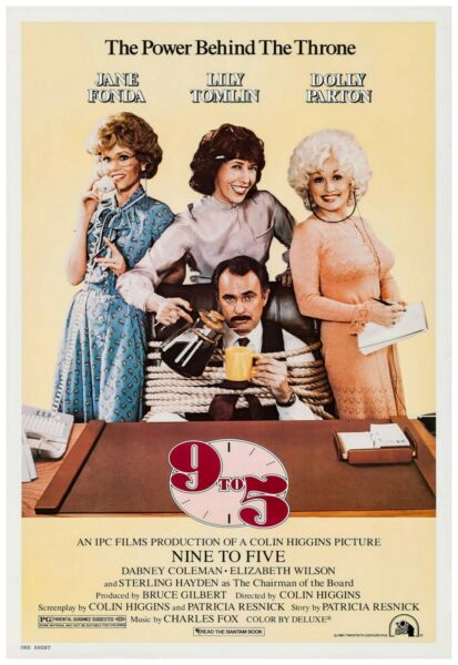 9 To 5 Movie Poster Full Color Print - Wall Art - 24x36 Inches