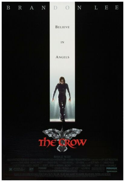 The Crow Movie Poster Full Color Print - Wall Art - 24x36