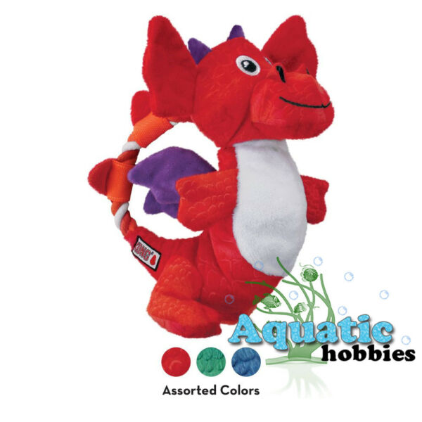 Kong Dragon Knots Medium  Large Assorted Rope Squeaks Fun Interactive Toy Dog