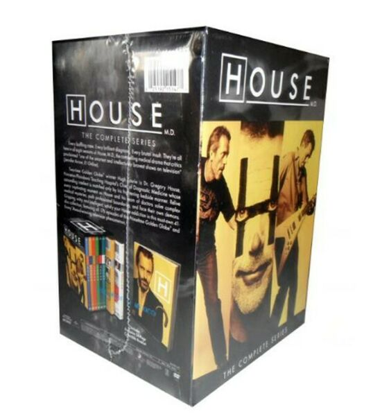 HOUSE M.D. The Complete DVD Series 1-8 Season 1 2 3 4 5 6 7 8 MD Dr New Box Set