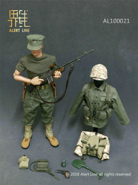 Alert Line AL100021 16 WWII Browning Costume Set Automatic Rifle BAR Model Toy $95.64