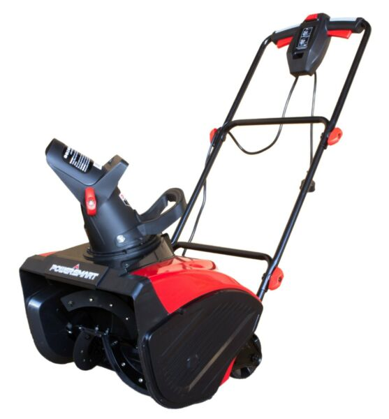 PoerSmart DB5017 18 in. 15 Amp Corded Electric Snow Blower