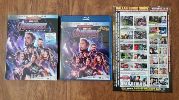 I Love You 3000 Actress Lexi Rabe Signed twice Avengers Endgame Blu-ray