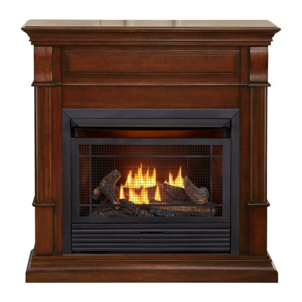 Duluth Forge Dual Fuel Ventless Gas Fireplace - 26000 BTU T-Stat Control