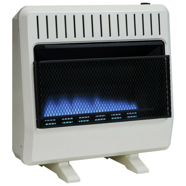 Avenger Dual Fuel Vent Free Blue Flame Heater - 30000 BTU Base Included