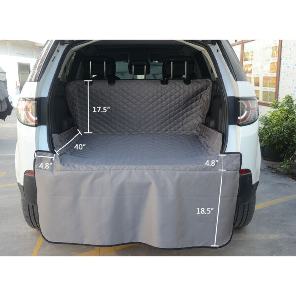 Waterproof SUV Cargo Liner Pet Dog Car Seat Cover Mat w Bumper Flap Protector $22.98