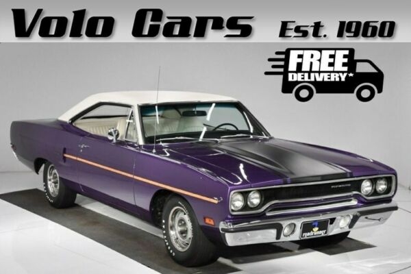 1970 Plymouth Road Runner  tunning factory colors #s match. Ps Pb.