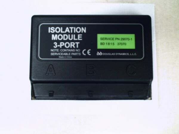 FISHER WESTERN SNOW PLOW 3 PORT ISOLATION MODULE 29070-1 29070