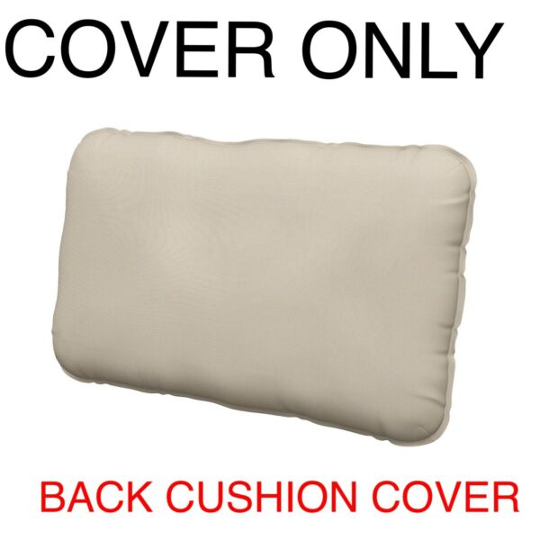 Ikea VALLENTUNA COVER SLIPCOVER for Back Cushion ORRSTA BEIGE $9.78