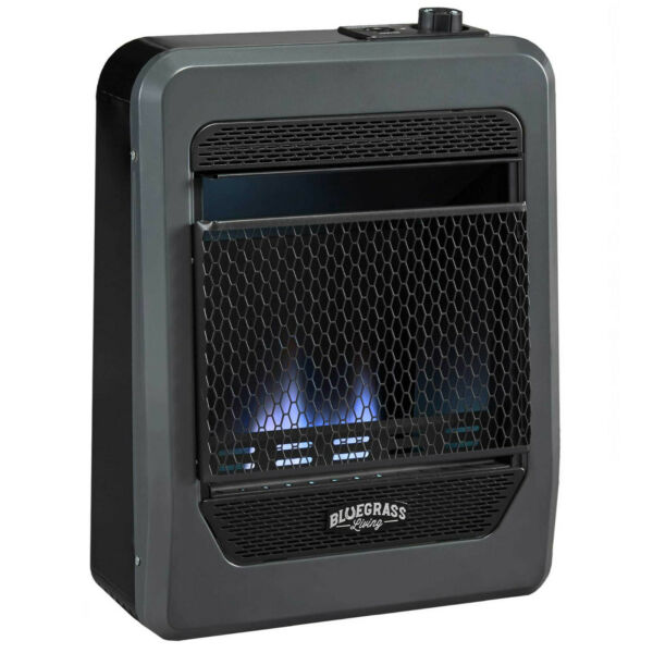 Bluegrass Living Natural Gas VentFree Blue Flame Gas Space Heater With Base Feet $169.99