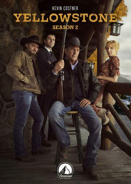 Yellowstone: Season 2 Two (DVD 2019 4-Disc-Set) NEW Fast First Class Shipping