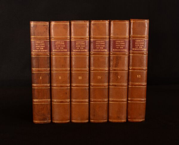 1776-1788 6vol Edward Gibbon The Decline and Fall of the Roman Empire 1st
