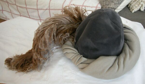 A Vintage 1970'S Fashion Hat Designed And Produced By Known Jacques Pinturier(m)
