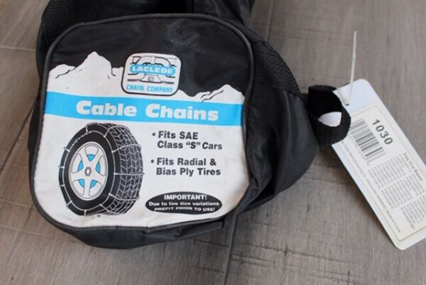 Laclede Cable Tire Snow Chains # 1030 - In Original Bag (Pre Owned)