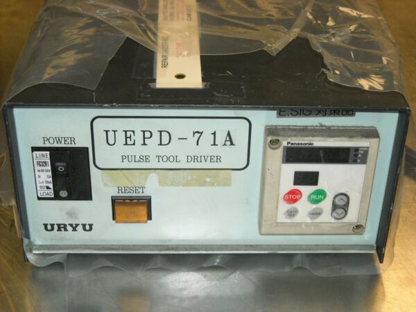 UEPD-71A Uryu Tool Controller - Driver For UEP-7080 Tools Factory Serviced