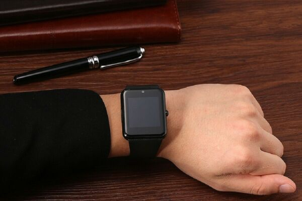 New Smart Watch iPhone Android with Texting Calling Camera SIM Slot Touch Screen $14.99