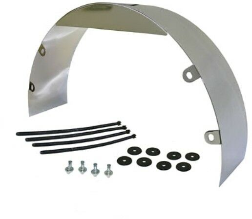 FAN SHROUD POLISHED STAINLESS 5quot; Wide 20quot; dia
