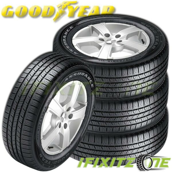 4 Goodyear Assurance All-Season AS 22565R17 102T M+S Touring Performance Tires