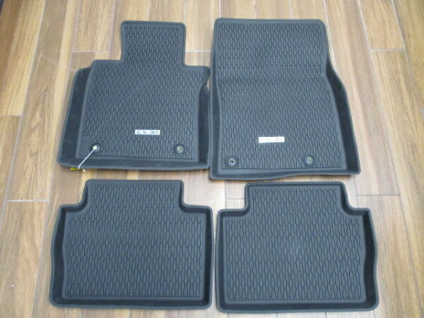 2020 Mazda CX-30 All Weather Floor Mats - High Wall (set of 4) DGJ2V0350
