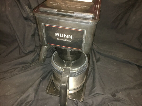 BUNN 10 Cup Coffee Maker Model No. BT10 B Stainless Carafe Coffee Home Office