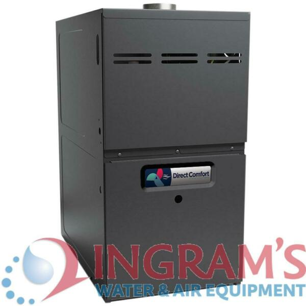 80k BTU 80% AFUE Multi Speed Direct Comfort Gas Furnace Upflow Horizontal 17 $818.00