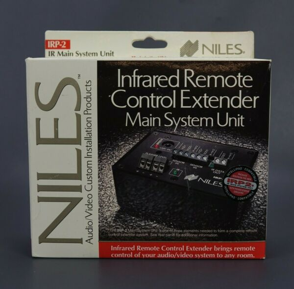 Niles IRP2 Infrared Remote Control Extender Main System Unit NEW