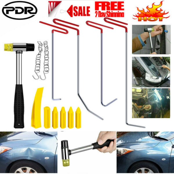 Car Body Slide Paintless Dent Repair Tools Auto Puller Rods Hail Damage Removal