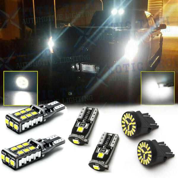 6Pc Combo LED License Plate+Reverse Backup+High Mount Light For Ford F-150 15-17