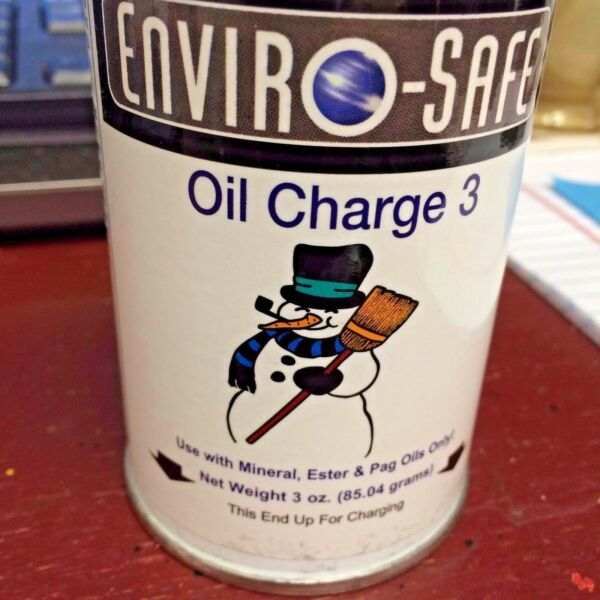 R22 Oil Charge R 22 3 OZ. CAN Refrigerant with Lubricant $13.99