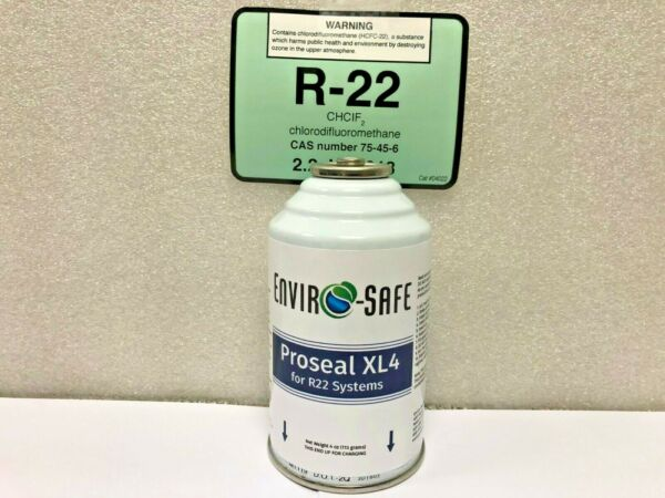For R22 Refrigerant Systems Proseal XL4 Super Leak Stop For R22 1 4 oz. Can $18.34