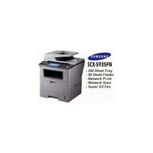 Samsung SCX-5935FN All-In-One Laser Printer Nice Off Lease Units w/ toner!