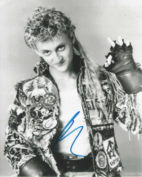 ALEX WINTER SIGNED AUTHENTIC 'THE LOST BOYS' 8x10 PHOTO wCOA FREAKED ACTOR