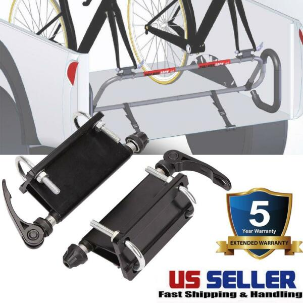 Universal Car Roof Bike Bicycle Mount Carrier Rack Quick release Alloy Fork Lock $22.99