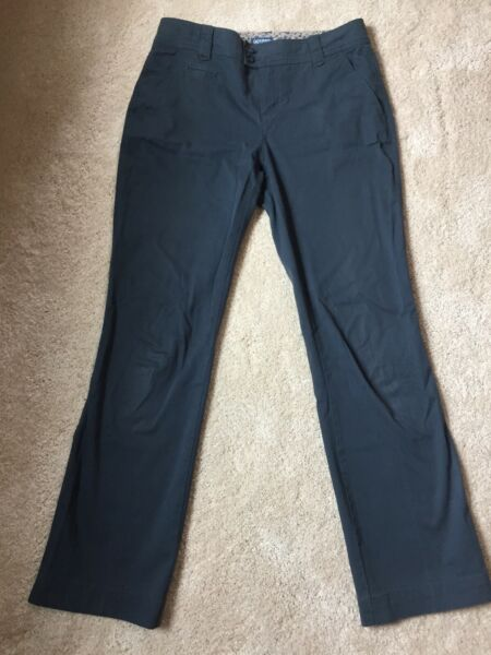 IZOD Grey Dress Pants*Cotton* Size 4*Flat Front*Gently Used