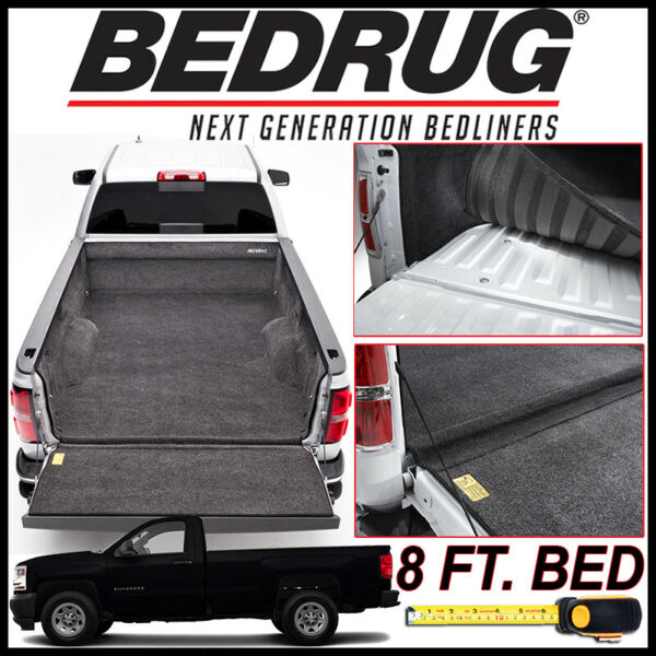 BEDRUG 2007 2018 Chevy Silverado Custom Bed Protection Liner Mat fits 8 FT. $439.00