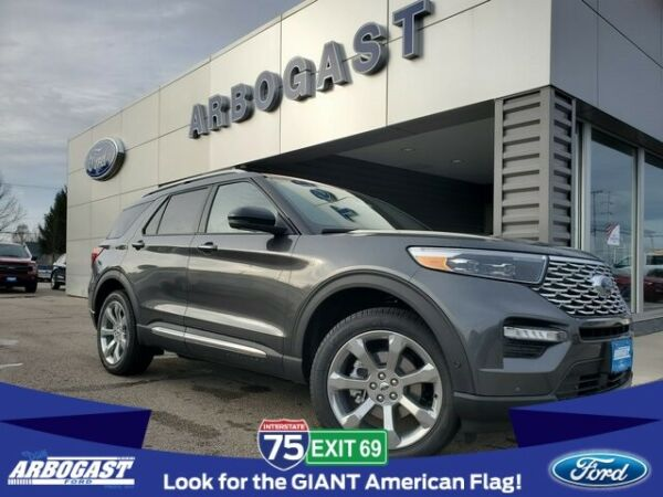 2020 Ford Explorer Platinum 2020 Ford Explorer Platinum 3 Miles Magnetic 4D Sport Utility V6 10-Speed Automa