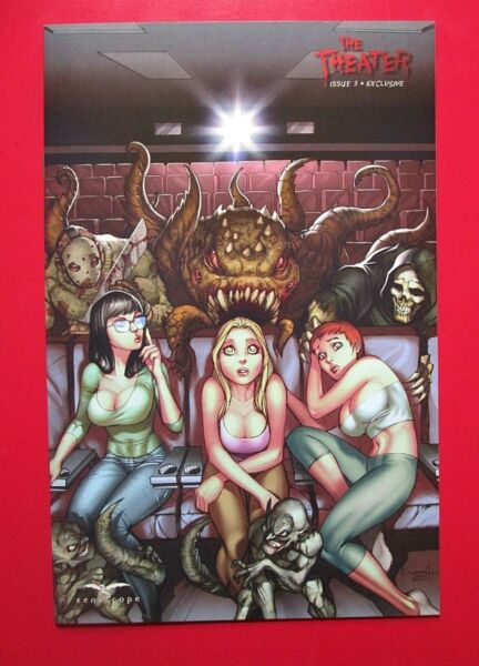 THE THEATER #3C NM ALE GARZA exclusive LTD 500 Zenescope Grimm Fairy Tales