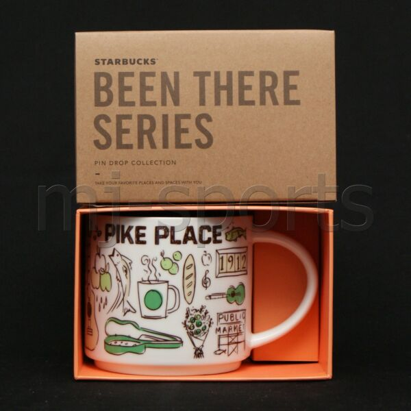 2017 STARBUCKS PIKE PLACE BEEN THERE SERIES COLLECTION COFFEE MUG 14 OZ market