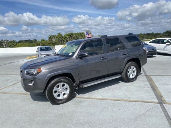 2019 Toyota 4Runner SR5 Premium 2019 Toyota 4Runner Magnetic Gray Metallic with 11300 Miles available now!