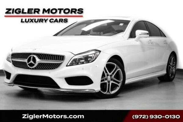 2015 Mercedes-Benz CLS 400 **FREE SHIPPING** AMG Style Designo White Diamond 2015 Mercedes-Benz CLS 400 **FREE SHIPPING** 66776 Miles