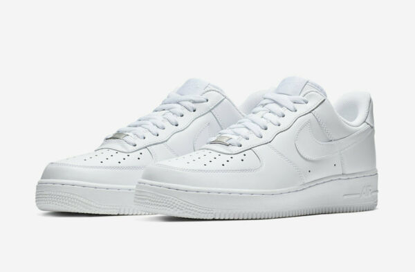 NIKE AIR FORCE 1 '07 TRIPLE WHITE 315122 111 Men's sizes 4Y-14 *BRAND NEW IN BOX