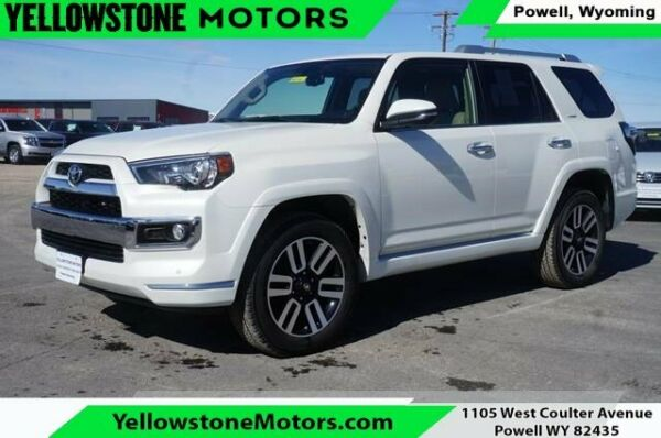 2019 Toyota 4Runner Limited Blizzard Pearl Toyota 4Runner with 2019 Miles available now!