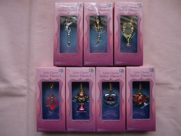 Little Charm 3  Sailor Moon  Miniature Toy Mascot 7pc Full set from Japan Bandai $29.00