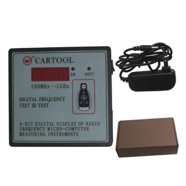 New Digital Car IR Infrared Remote Key Frequency Tester Range 100-500MHZ