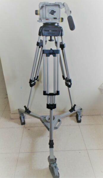Vinten Vision 250 Tripod Fluid Head with Vinten 3369 Doly