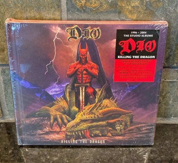 DIO CD - KILLING THE DRAGON [2 DISCS](2020) - NEW UNOPENED - ROCK METAL